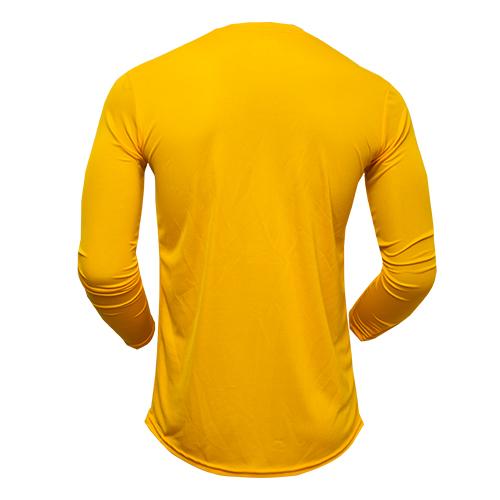474a50be1882b Playera de Manga Larga Amarilla – Romed Sportswear