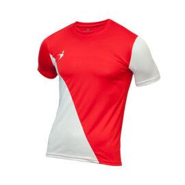 78cc47ab51b79 Jersey Deportivo Diagonal Rojo con Blanco