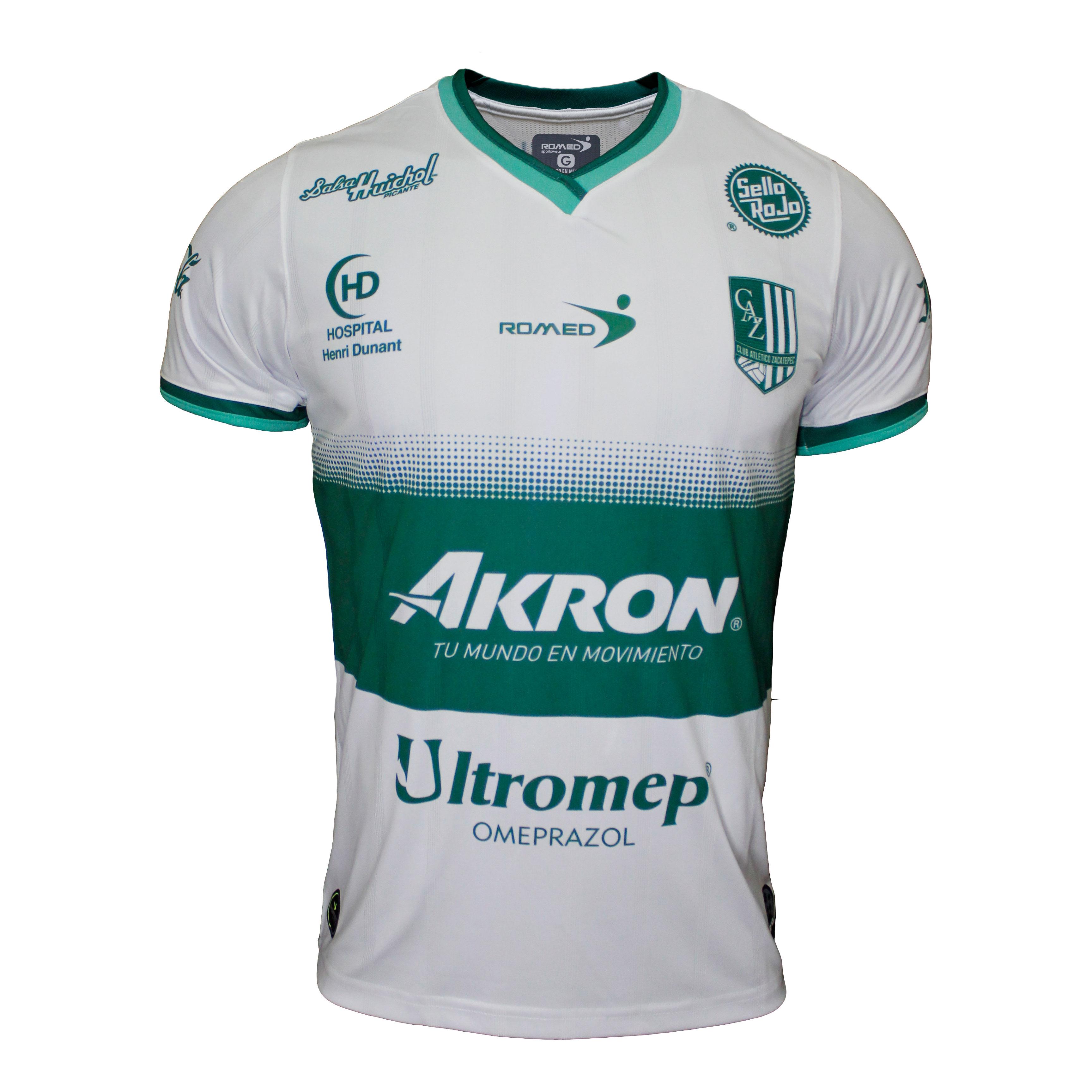 Jersey Club Atletico Zacatepec Visita Romed Sportswear
